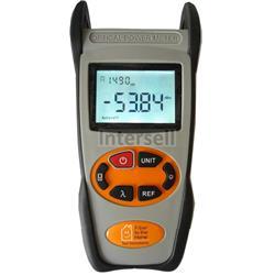 Optical power meter 850, 1300, 1310, 1490, 1550, 1625nm, -50 to 26dBm-100942