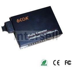 Media converter 6C-MC-300A 10/100Base-T Ethernet with SFP-101917 port