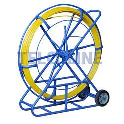 Włókno szklane FRP (pilot) do przeciągania kabli 9mm (średnica), 100m, żółty-102017