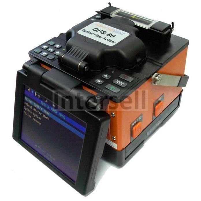 ShinewayTech Spawarka światłowodowa OFS-80EC z wymiennymi uchwytami-100516