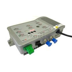 Reciever - odbiornik optyczny CATV FTTB, RF - 108dBuV, input -9- 2 dBm, SNMP-101905