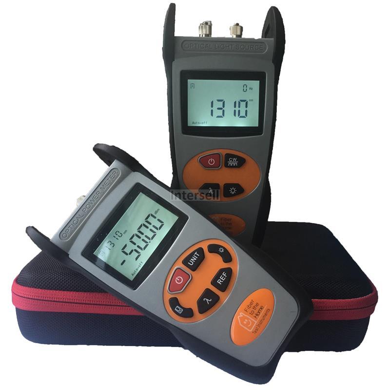 Optical Power Meter Kit (-50 to 26dBm) Light Source (850/1300nm) INT-ZES-TC-12-101378