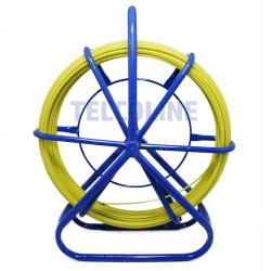 Włókno szklane FRP (pilot) do przeciągania kabli 4,5mm (średnica), 50m, żółty
