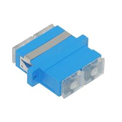 SC/UPC adapter, single mode (SM), duplex, latch-mounted-102885