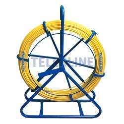 Włókno szklane FRP (pilot) do przeciągania kabli 6mm (średnica), 75m, żółty-102700
