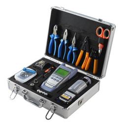 Zestaw narzędziowy FTTH, 11 narzędzi w walizce - OPM, cleaver