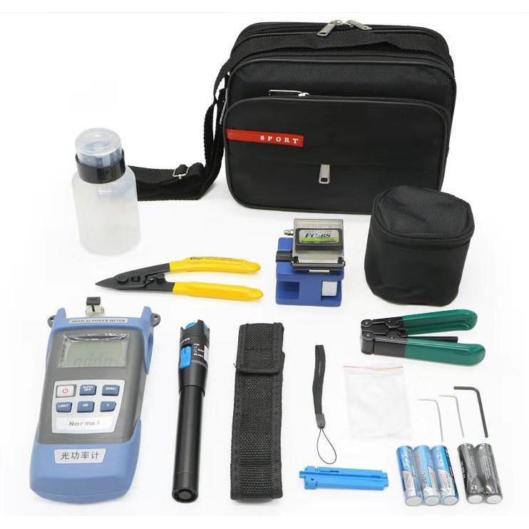 Światłowodowy zestaw narzędziowy, 7 narzędzi w poręcznej torbie-102594