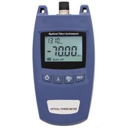 Optical power meter, 6 MEASURING WINDOWS, -50-+26dB